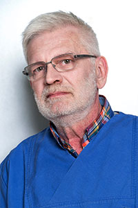 Zahntechniker Uwe Wollenberg